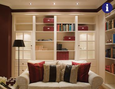 boekenkast op maat klassieke style