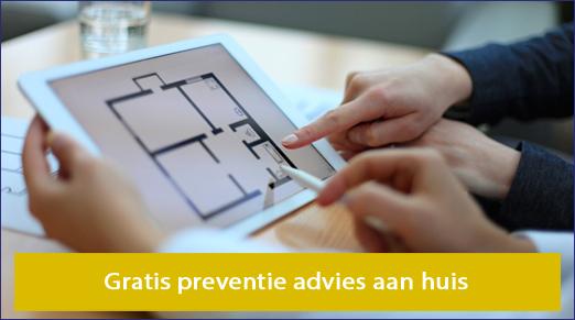 Gratis preventie advies aan huis