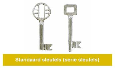 standaard-sleutels-serie-sleutels