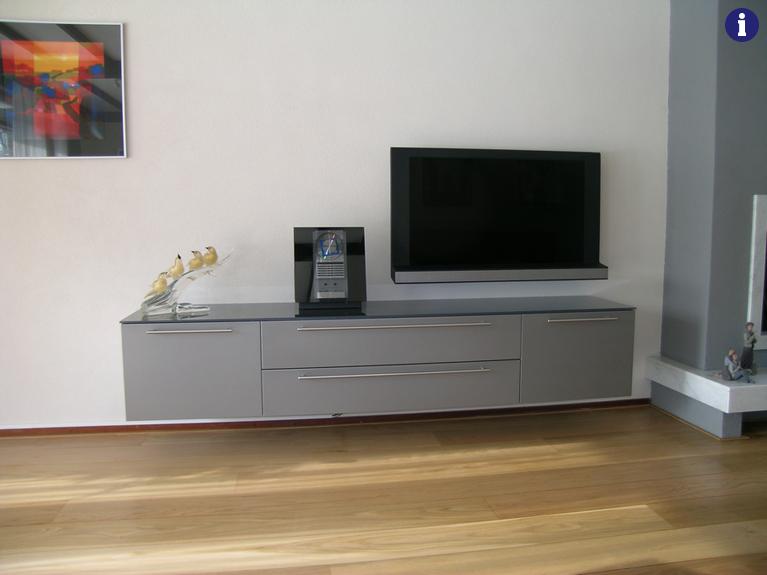 Tv meubel op maat grijs antraciet
