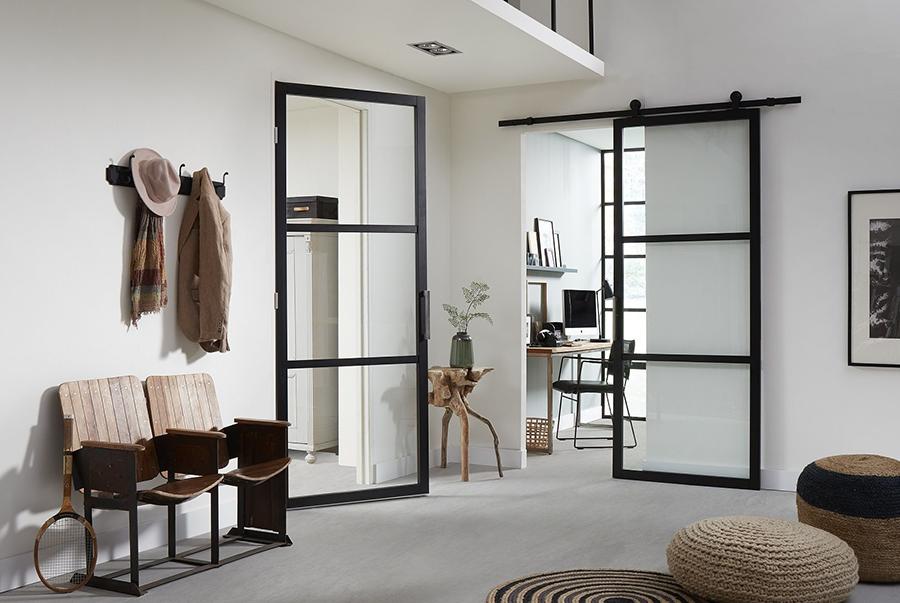 Staal look binnendeur design 4 haverkamp for Look 4 design