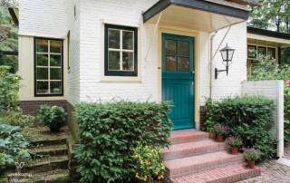 Klassieke voordeur blauw