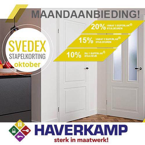 Maandaanbieding Svedex