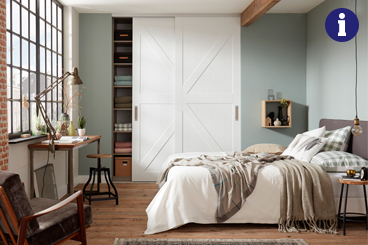 Haverkamp garderobekast op maat design 10